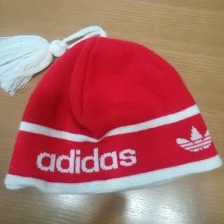 アディダス(adidas)のアディダス ニット帽 56センチ(ニット帽/ビーニー)