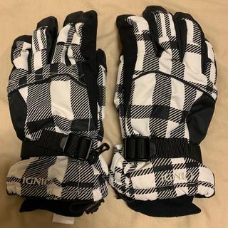 今期人気のチェック柄 スキー、スノボ 手袋(ウエア/装備)