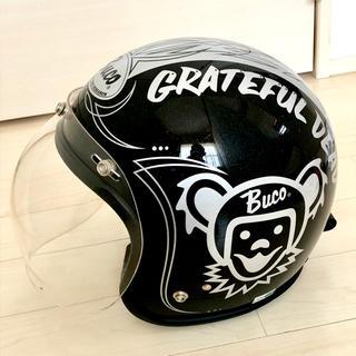 BUCO グレイトフルデッド ヘルメット ブラックメタリック