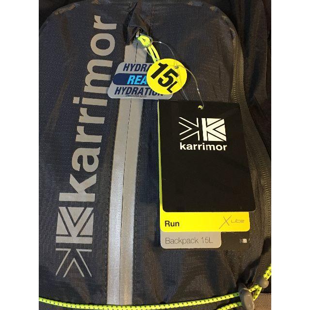 c03620154213 karrimor(カリマー)のカリマー Karrimor ランニングバックパック X Lite 15L スポーツ/アウトドア