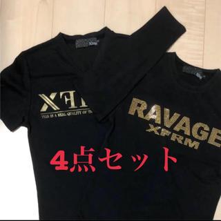 トランスフォーム(Xfrm)の訳ありオラオラ系4点セット☆(Tシャツ/カットソー(七分/長袖))