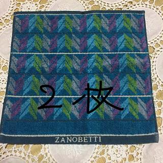ザノベッティー(ZANOBETTI)のザノベッティー☆ハンカチタオル(ハンカチ/ポケットチーフ)