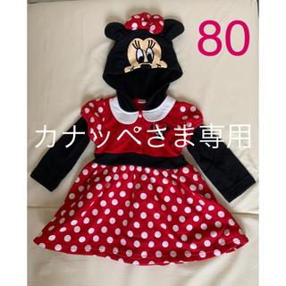 ディズニー(Disney)のカナッペさま専用!ミニーマウス ワンピース(ワンピース)