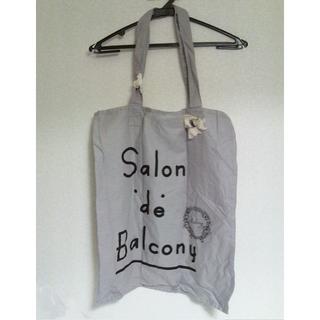 サロンドバルコニー(Salon de Balcony)のSalon de Balcony and Bed サロンドバルコニー バッグ(トートバッグ)
