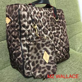 エムジーウォレス(MZ WALLACE)の◆ MZ WALLACE トートバッグ  レオパード ◆Time Sale(トートバッグ)