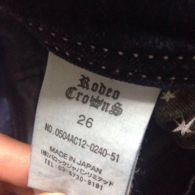 RODEO CROWNS WIDE BOWL(ロデオクラウンズワイドボウル)のRODEO CROWNS デニムパンツ レディースのパンツ(デニム/ジーンズ)の商品写真