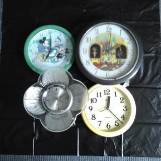 ディズニー(Disney)の時計 置時計 掛け時計 4個まとめて(置時計)