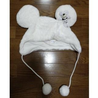 Disney - ミッキー 耳付き 冬用 帽子