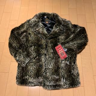 シュプリーム(Supreme)の窪塚着 supreme fur peacoat  シュプリーム   box(ピーコート)