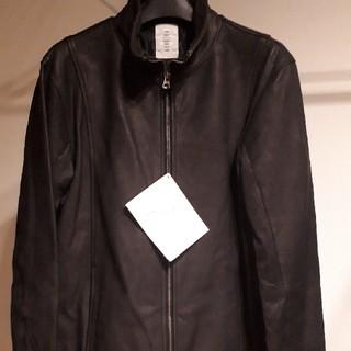 シャマ(shama)のshama 馬革ジャケット 新品ブラックL(レザージャケット)