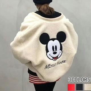 ディズニー(Disney)のディズニー ミッキーマウス ボアブルゾン mickey (ブルゾン)