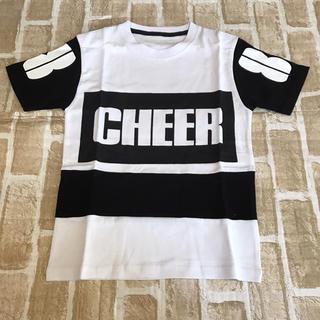 XS120センチ 新品CHEERダンスTシャツ