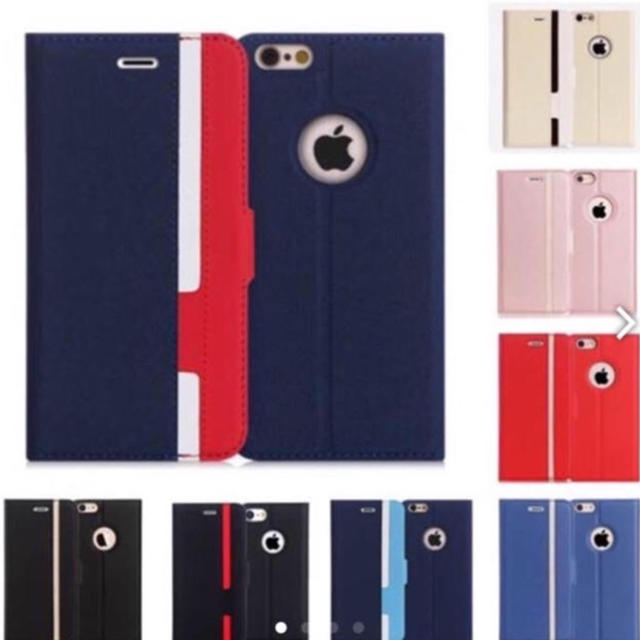 (大人気商品) iphone 手帳型 ケース (全8色) 新品の通販 by プーさん☆|ラクマ