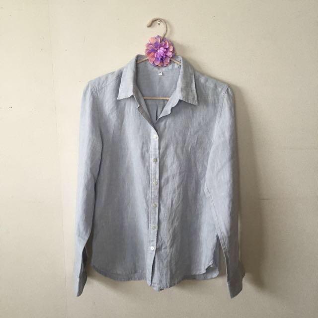 無印リネンシャツは汗かきメンズにオススメする5つのポイント。