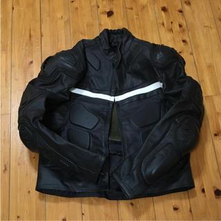 バイク、モトクロスGENUINE Leatherジャケットプロテクター★M(モトクロス用品)