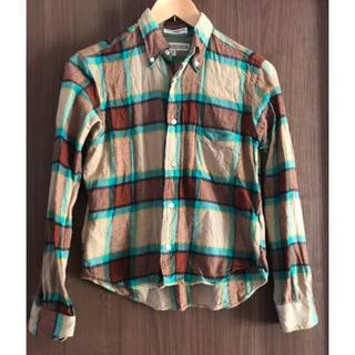 インディヴィジュアライズドシャツ(INDIVIDUALIZED SHIRTS)のインディビジュアライズドシャツ ネルシャツS(シャツ/ブラウス(長袖/七分))