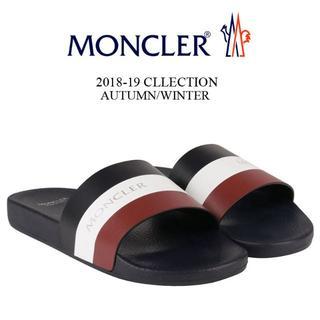 モンクレール(MONCLER)の【9】MONCLER BASILE サンダル/シャワーサンダル size 39(サンダル)