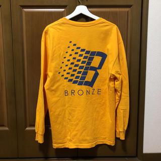 シュプリーム(Supreme)のBronze 56k ロンT イエロー(Tシャツ/カットソー(七分/長袖))