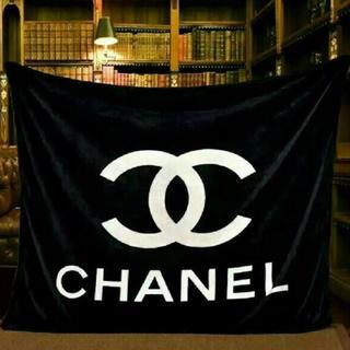 シャネル(CHANEL)の毛布 保存袋付き(毛布)