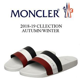 モンクレール(MONCLER)の【8】MONCLER BASILE サンダル/シャワーサンダル size 40(サンダル)