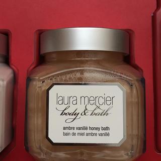 ローラメルシエ(laura mercier)のアンバーバニラ✨ローラメルシエ✨シャワーバス✨新品未使用✨(ボディソープ/石鹸)