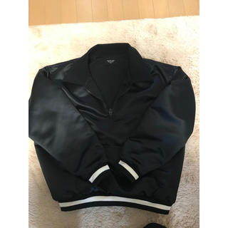 フィアオブゴッド(FEAR OF GOD)のFear of God Satin Half Zip Coach Jacket (ブルゾン)