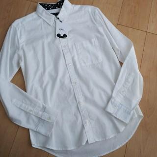 ディズニー(Disney)の新品未使用 ワイシャツ ミッキー M(シャツ)