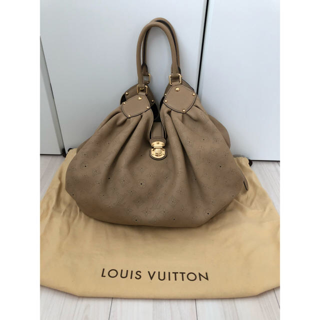 f851d35f5e37 ... レザーバッグ マヒナ XL. LOUIS VUITTON(ルイヴィトン)の【美品です♡】ルイヴィトン ソフト