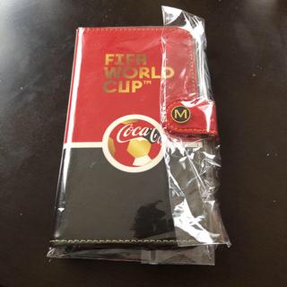 コカコーラ(コカ・コーラ)のワールドカップ☆スマホケース(スマホケース)