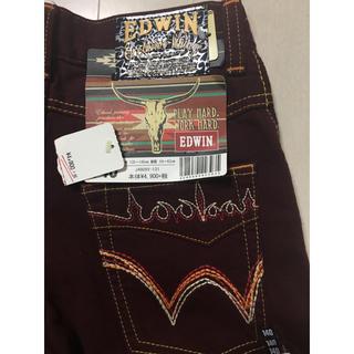 エドウィン(EDWIN)のEDWEN パンツ 140 タグ付き新品未使用(パンツ/スパッツ)