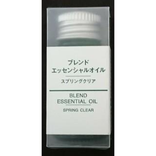 ムジルシリョウヒン(MUJI (無印良品))の無印良品  ブレンドエッセンシャルオイル  スプリングクリア(アロマオイル)
