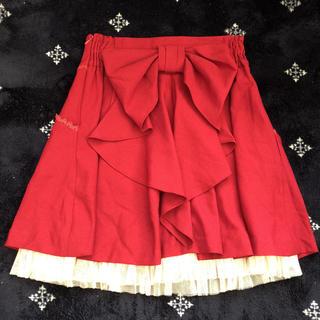 シークレットマジック(Secret Magic)のSecretMagic♡バックリボンスカート(ミニスカート)