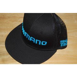 シマノ(SHIMANO)の新品 US限定 CAP シマノ フラットビル キャップ ブラック(その他)