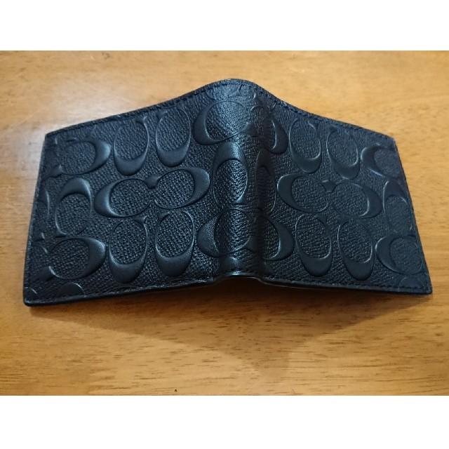 wholesale dealer da9af dc278 新品未使用!コーチ折り財布 楽天ランキング1位 ブラック