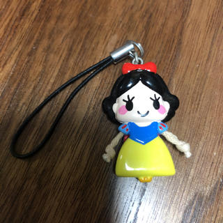 シラユキヒメ(白雪姫)のディズニー ディズニーストア ストラップ 白雪姫(キャラクターグッズ)