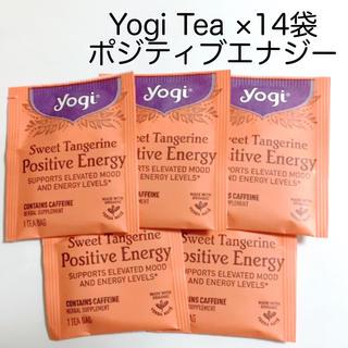 カルディ(KALDI)のYogi Tea ヨギティー ポジティブエナジー ティーバッグ 14袋(茶)