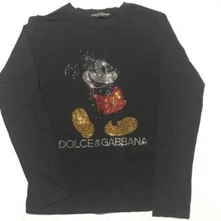 ドルチェアンドガッバーナ(DOLCE&GABBANA)のDOLCE&GABBANA ミッキー tee(Tシャツ(長袖/七分))
