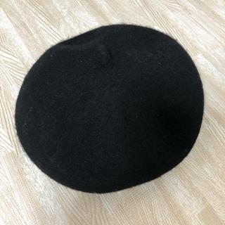 ムジルシリョウヒン(MUJI (無印良品))のベレー帽(ハンチング/ベレー帽)