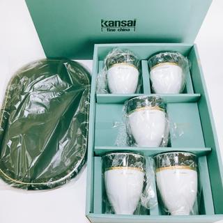 Kansai カップ 5個 トレー付き 新品未使用