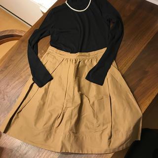 デミルクスビームス(Demi-Luxe BEAMS)のフレアースカート(ひざ丈スカート)