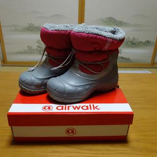 air walk スノーブーツ 18cm