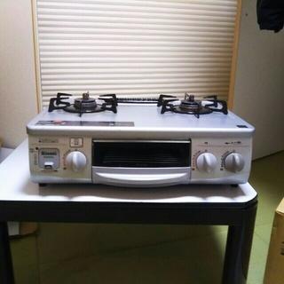 リンナイ(Rinnai)のプロパンガス用グリル付きガステーブル(調理機器)