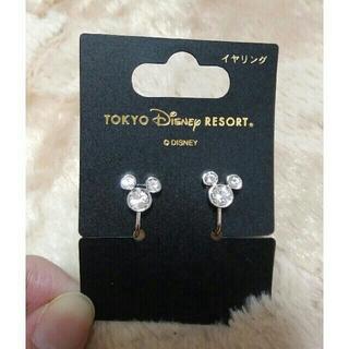 ディズニー(Disney)のTDR ミッキーシェイプ イヤリング(イヤリング)