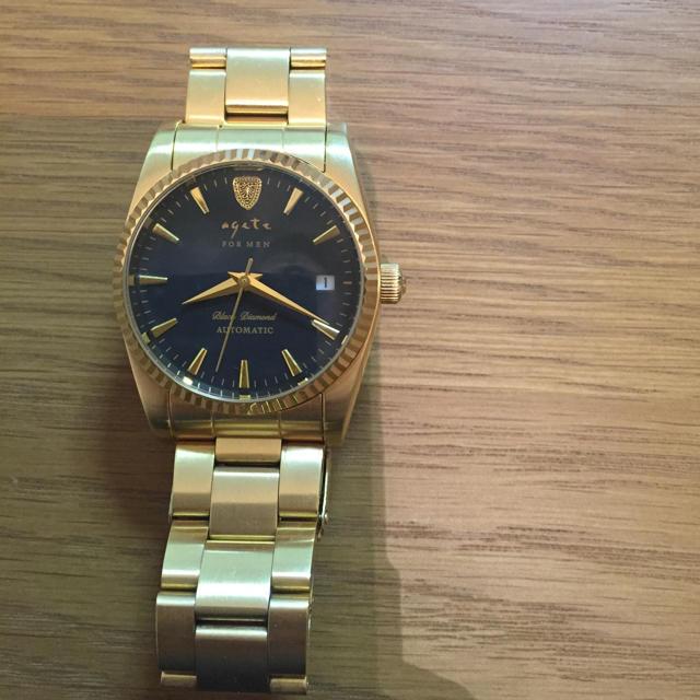 agete(アガット)のアガット メンズ腕時計 メンズの時計(腕時計(アナログ))の商品写真