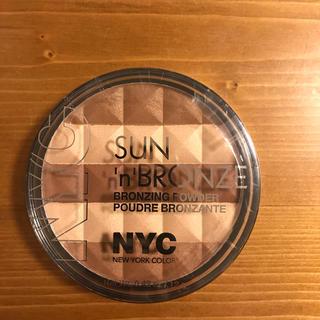 エヌワイシー(NYC)の☆新品未使用☆NYC ブロンザーパウダー コスメ メイク ニューヨークカラー(その他)