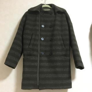 カミシマチナミ(KAMISHIMA CHINAMI)の超美品 着用時間1時間のみ 定価 79,000円+税(ダッフルコート)