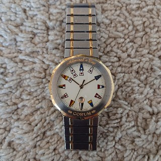 コルム(CORUM)の【南天竹林様専用】CORUM アドミラルズカップ 腕時計 正規品(腕時計(アナログ))