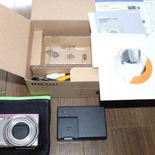 リコー(RICOH)の中古★RICOH リコーCX3 デジタルカメラ ピンク 付属品あり(コンパクトデジタルカメラ)
