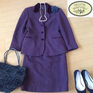 ローラアシュレイ(LAURA ASHLEY)のローラアシュレイ ツィード調 スーツ ジャケットスカート LAURAASHLEY(スーツ)