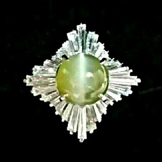 ダイヤモンド♥キャッツアイ(リング(指輪))